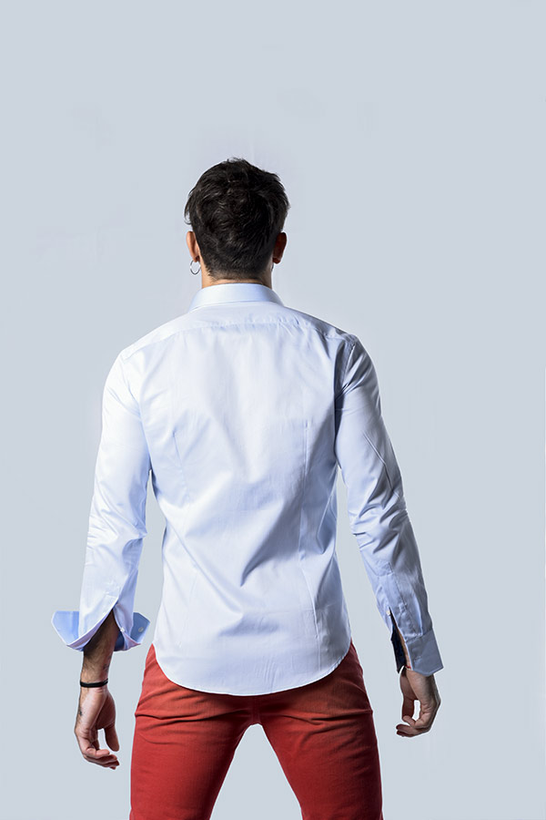 Camicia alla Francese con Fantasia People