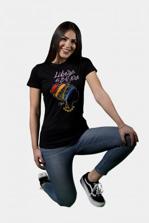 T-shirt Collezione International Women's Day Nero.