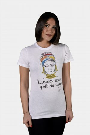 T-shirt Collezione International Women's Day Bianca.