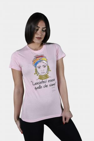 T-shirt Collezione International Women's Day Rosa.