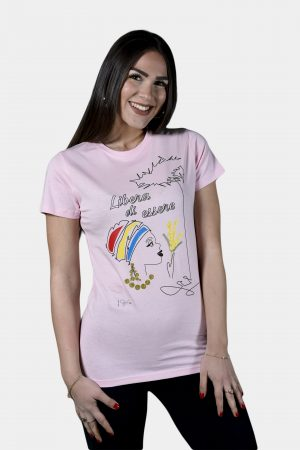 T-shirt Collezione International Women's Day Rosa